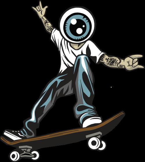 Skater Coaster Skateboard + Pumptrack